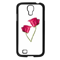 Red Roses Photo Samsung Galaxy S4 I9500/ I9505 Case (black) by dflcprints