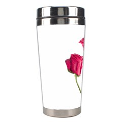 Red Roses Photo Stainless Steel Travel Tumblers by dflcprints