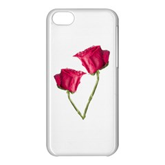 Red Roses Photo Apple Iphone 5c Hardshell Case by dflcprints