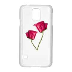 Red Roses Photo Samsung Galaxy S5 Case (white) by dflcprints