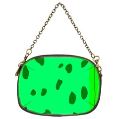 Alien Spon Green Chain Purses (two Sides)  by Alisyart
