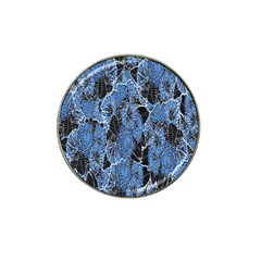 Floral Pattern Background Seamless Hat Clip Ball Marker (4 Pack) by Simbadda