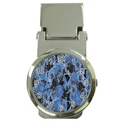 Floral Pattern Background Seamless Money Clip Watches by Simbadda