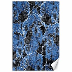 Floral Pattern Background Seamless Canvas 20  X 30   by Simbadda