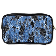 Floral Pattern Background Seamless Toiletries Bags 2 Side by Simbadda