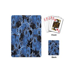 Floral Pattern Background Seamless Playing Cards (mini)  by Simbadda