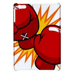 Boxing Gloves Red Orange Sport Apple Ipad Mini Hardshell Case by Alisyart