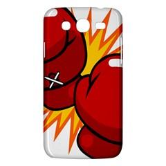 Boxing Gloves Red Orange Sport Samsung Galaxy Mega 5 8 I9152 Hardshell Case  by Alisyart