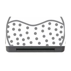Cool Gel Foam Circle Grey Memory Card Reader With Cf by Alisyart