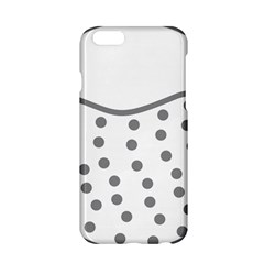 Cool Gel Foam Circle Grey Apple Iphone 6/6s Hardshell Case by Alisyart