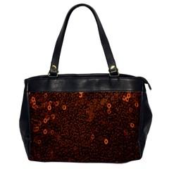 Brown Sequins Background Office Handbags by Simbadda