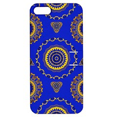Abstract Mandala Seamless Pattern Apple Iphone 5 Hardshell Case With Stand by Simbadda