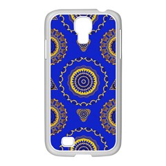 Abstract Mandala Seamless Pattern Samsung Galaxy S4 I9500/ I9505 Case (white) by Simbadda