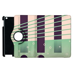 Day Sea River Bridge Line Water Apple Ipad 3/4 Flip 360 Case by Alisyart