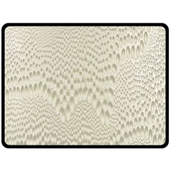 Coral X Ray Rendering Hinges Structure Kinematics Fleece Blanket (large)  by Alisyart