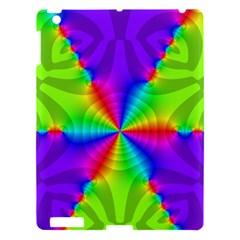 Complex Beauties Color Line Tie Purple Green Light Apple Ipad 3/4 Hardshell Case by Alisyart