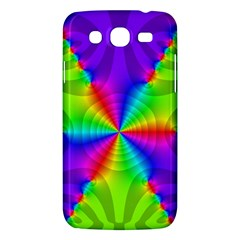 Complex Beauties Color Line Tie Purple Green Light Samsung Galaxy Mega 5 8 I9152 Hardshell Case  by Alisyart
