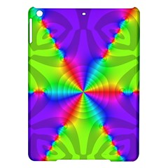 Complex Beauties Color Line Tie Purple Green Light Ipad Air Hardshell Cases by Alisyart