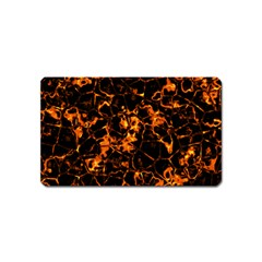 Fiery Ground Magnet (name Card) by Alisyart