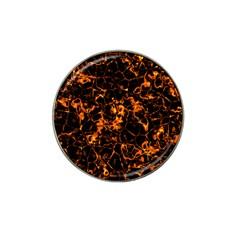 Fiery Ground Hat Clip Ball Marker (10 Pack) by Alisyart
