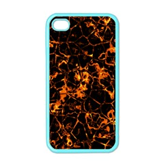 Fiery Ground Apple Iphone 4 Case (color) by Alisyart