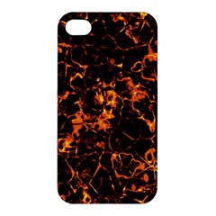 Fiery Ground Apple Iphone 4/4s Hardshell Case by Alisyart