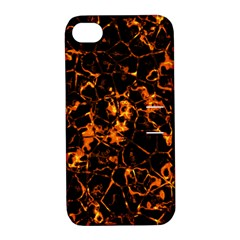 Fiery Ground Apple Iphone 4/4s Hardshell Case With Stand by Alisyart