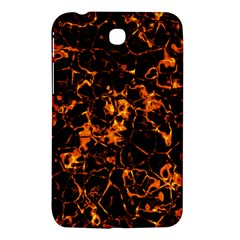 Fiery Ground Samsung Galaxy Tab 3 (7 ) P3200 Hardshell Case  by Alisyart