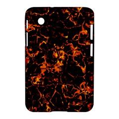 Fiery Ground Samsung Galaxy Tab 2 (7 ) P3100 Hardshell Case  by Alisyart