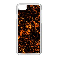 Fiery Ground Apple Iphone 7 Seamless Case (white) by Alisyart