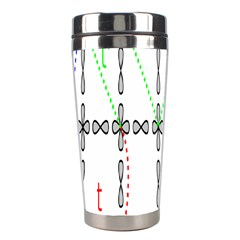 Formula Line Hubbard Model Applied Exist Stainless Steel Travel Tumblers by Alisyart