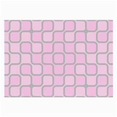 Light Pastel Pink Large Glasses Cloth by Alisyart