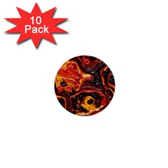 Lava Active Volcano Nature 1  Mini Buttons (10 Pack)  by Alisyart