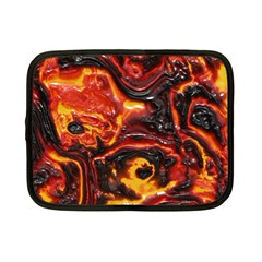Lava Active Volcano Nature Netbook Case (small)  by Alisyart