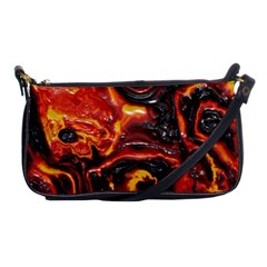 Lava Active Volcano Nature Shoulder Clutch Bags by Alisyart