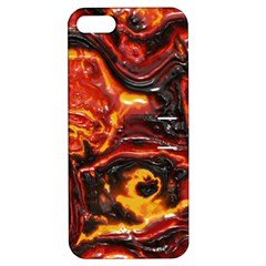 Lava Active Volcano Nature Apple Iphone 5 Hardshell Case With Stand by Alisyart