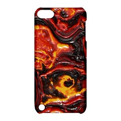 Lava Active Volcano Nature Apple Ipod Touch 5 Hardshell Case With Stand by Alisyart