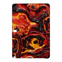Lava Active Volcano Nature Samsung Galaxy Tab Pro 10 1 Hardshell Case by Alisyart