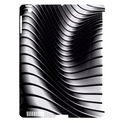 Metallic Waves Apple Ipad 3/4 Hardshell Case (compatible With Smart Cover) by Alisyart