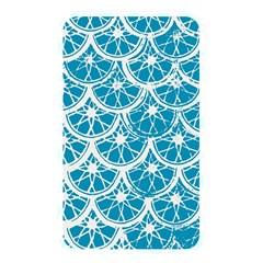 Lime Blue Star Circle Memory Card Reader by Alisyart
