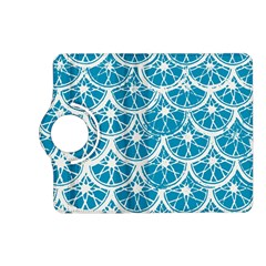 Lime Blue Star Circle Kindle Fire Hd (2013) Flip 360 Case by Alisyart