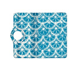 Lime Blue Star Circle Kindle Fire Hdx 8 9  Flip 360 Case by Alisyart