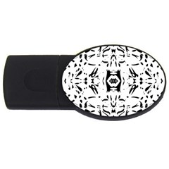 Nums Seamless Tile Mirror Usb Flash Drive Oval (4 Gb) by Alisyart
