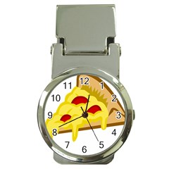 Pasta Salad Pizza Cheese Money Clip Watches by Alisyart