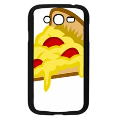 Pasta Salad Pizza Cheese Samsung Galaxy Grand Duos I9082 Case (black) by Alisyart