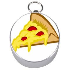 Pasta Salad Pizza Cheese Silver Compasses by Alisyart