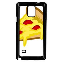 Pasta Salad Pizza Cheese Samsung Galaxy Note 4 Case (black) by Alisyart