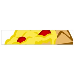 Pasta Salad Pizza Cheese Flano Scarf (small) by Alisyart