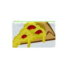 Pasta Salad Pizza Cheese Cosmetic Bag (xs) by Alisyart