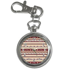 Pattern Tribal Triangle Key Chain Watches by Alisyart